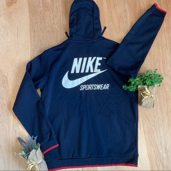 1f44e511f65e Nike Sportswear Hoodie Jacket Full ZIP Big Logo